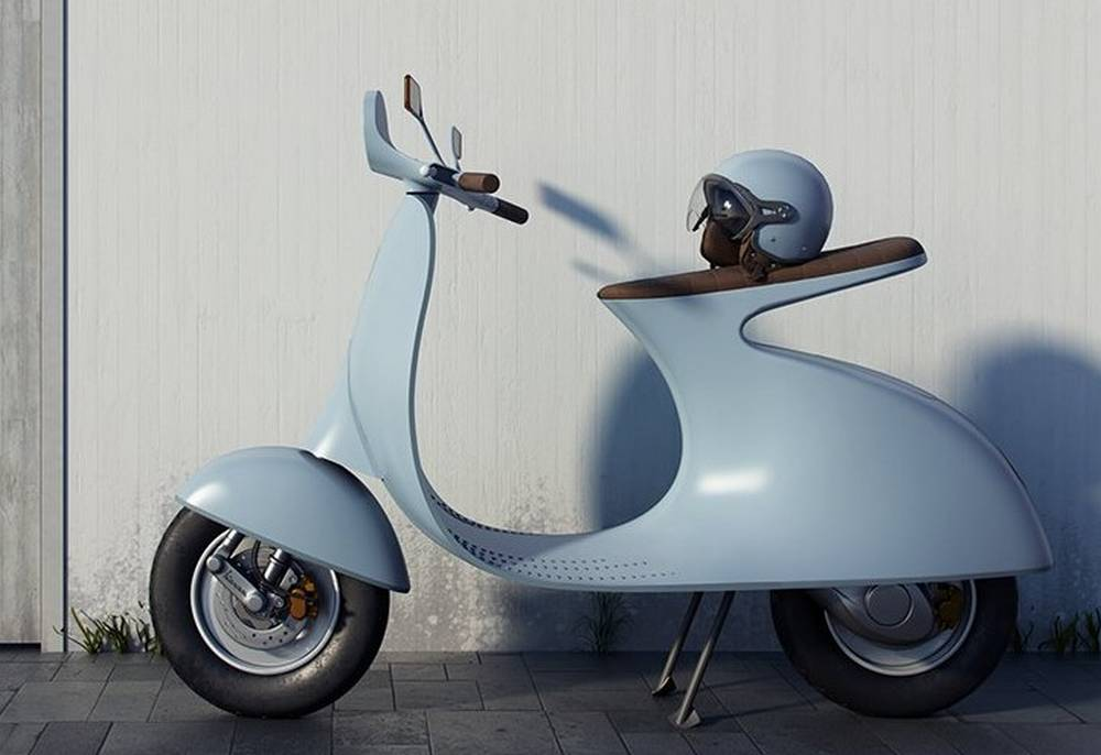 Vespampère electric scooter
