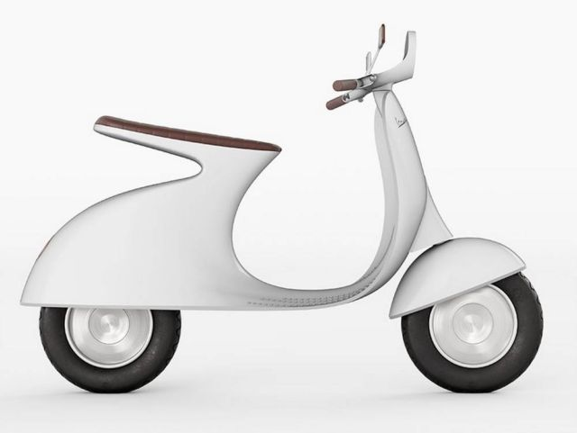 Vespampere electric scooter