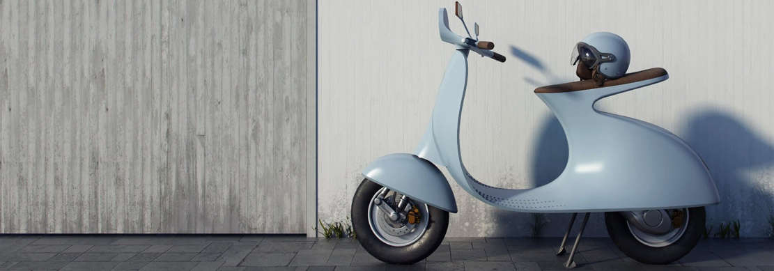 Vespampère electric scooter (1)