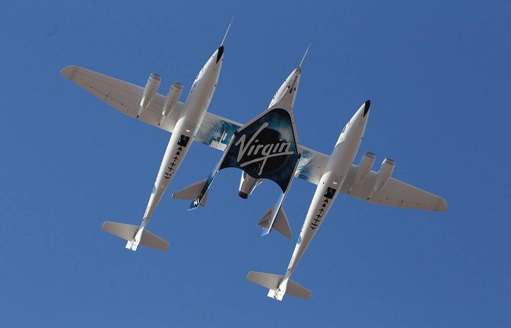 Virgin Galactic spaceplane completes rocket-powered flight