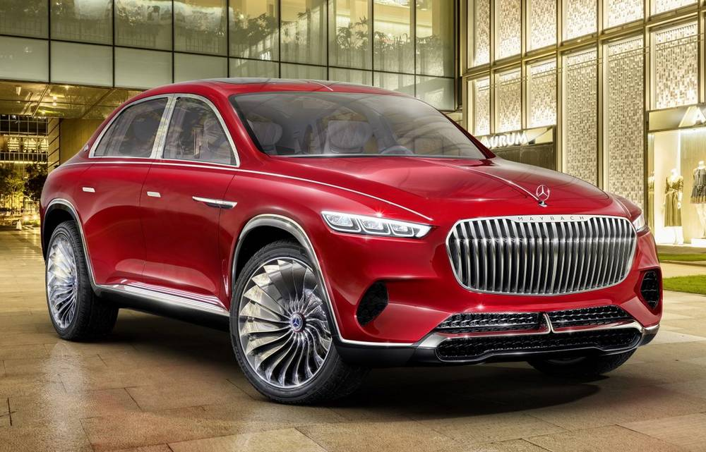 Vision Mercedes-Maybach Ultimate Luxury unveiled