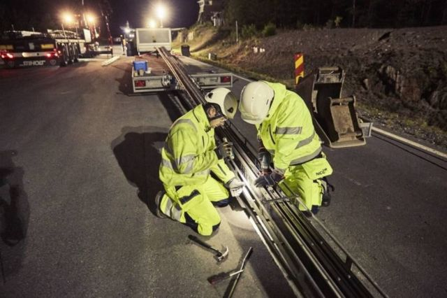 World's first electric road in Sweden