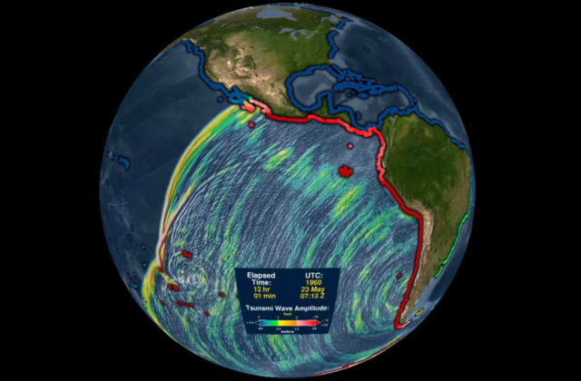 1960 Chile Tsunami from the Largest Earthquake ever Recorded