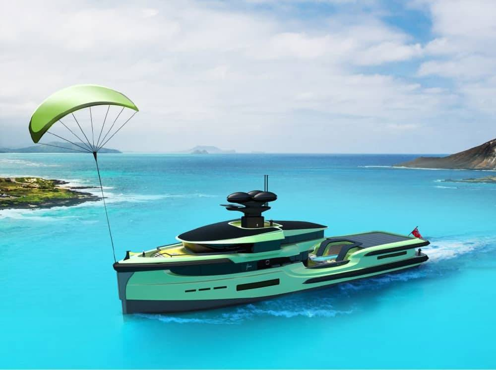 65m Green Expedition explorer yacht