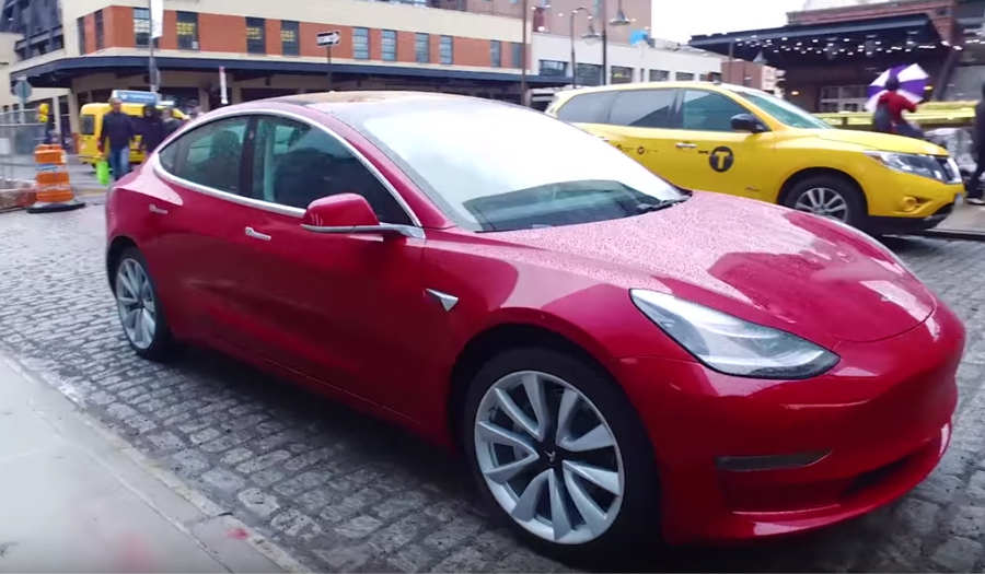 A long drive with Tesla Model 3