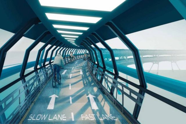 All-weather Bicycle Highway (4)