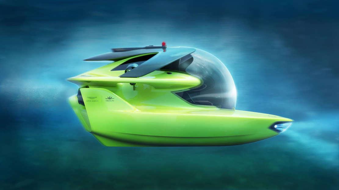 Aston Martin - Triton personal submarine (1)