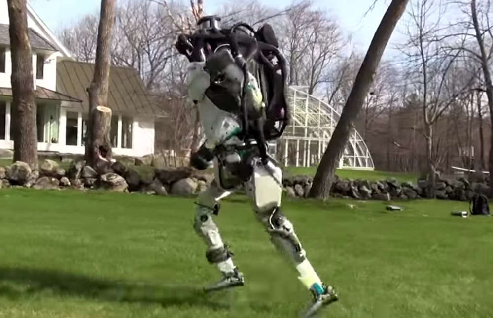 Atlas robot just went for a jog