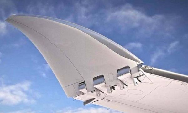 Boeing received approval for innovative folding wings (4)