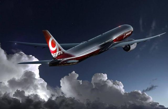 Boeing received approval for innovative folding wings