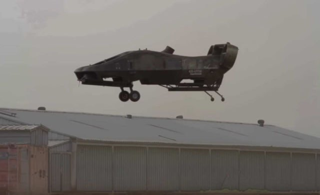 Cormorant drone performing a Simulated Rescue