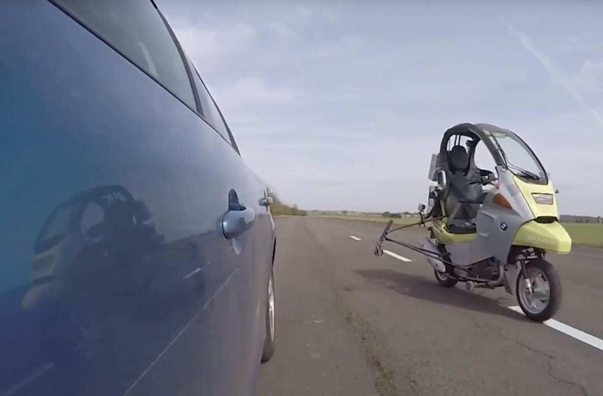 Driverless Motorbike