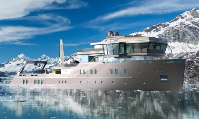 IDA Pfeiffer Ice-Class Yacht