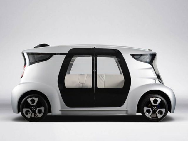 MC2 Self-Driving Vehicle
