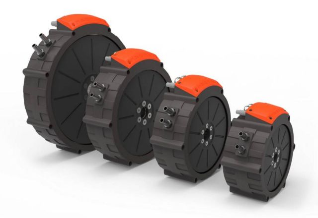 Magnax high-power, compact axial flux electric motor