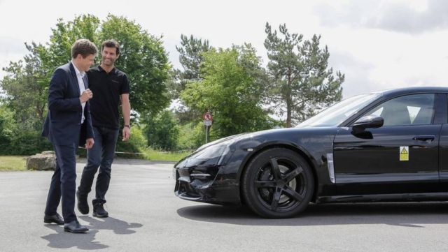 Mark Webber test drives the new Mission E (3)