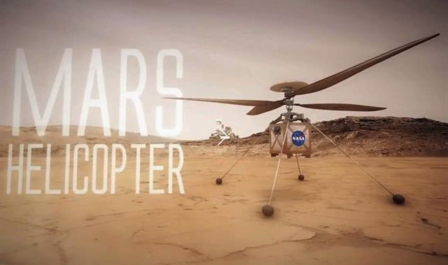 NASA to send a Helicopter on Mars