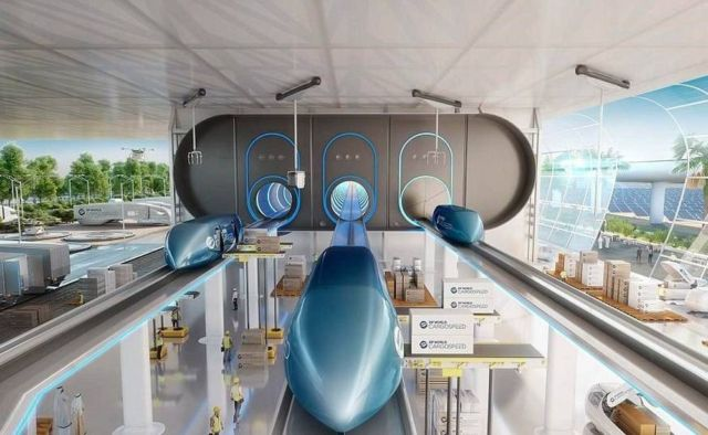 Richard Branson unveils new Dubai Hyperloop