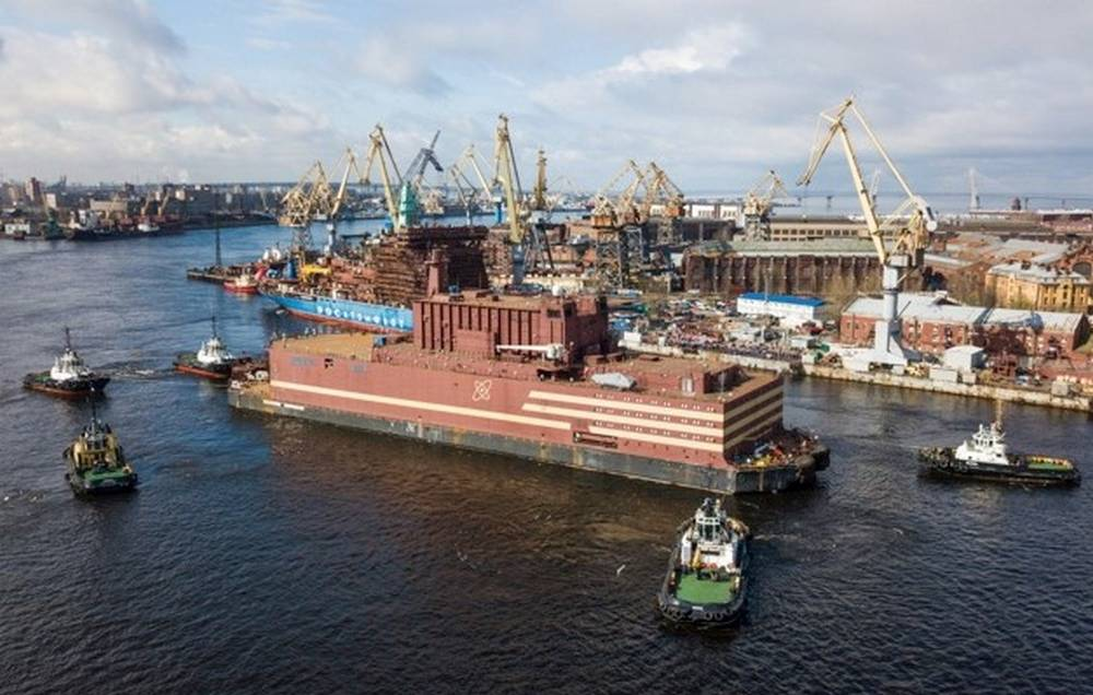 Russian Floating Nuclear power plant