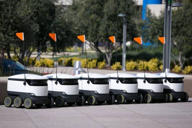 Starship Technologies' Self-Driving Robots