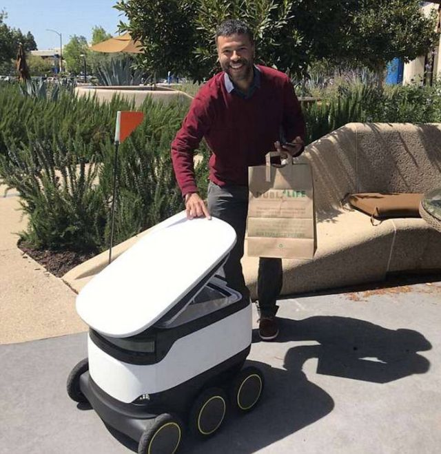 Starship Technologies' Self-Driving Robots (2)