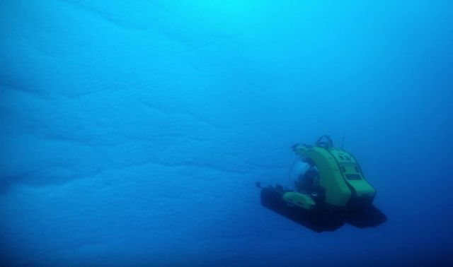The Deepest Dive in Antarctica