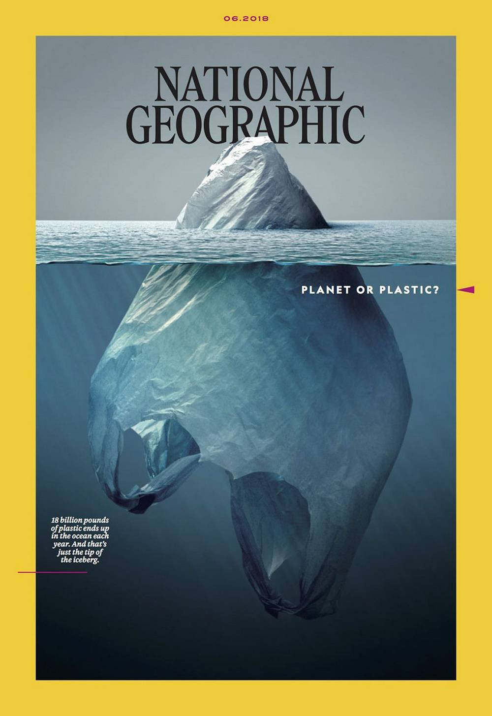 The ingenious latest National Geographic Cover