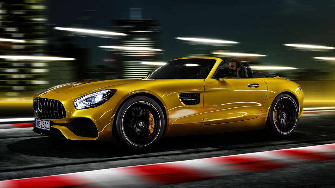 The new Mercedes-AMG GT S Roadster (1)