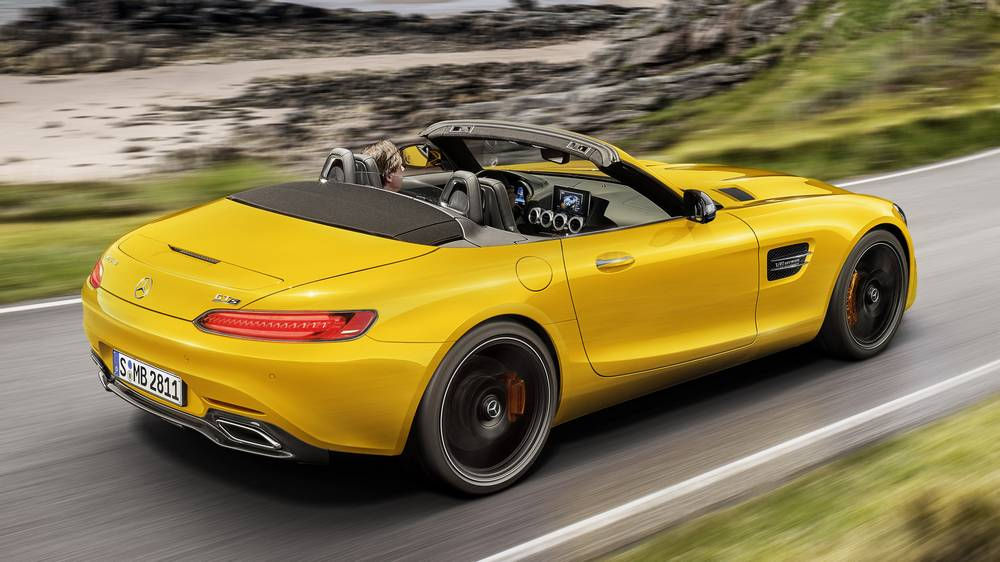 The new Mercedes-AMG GT S Roadster