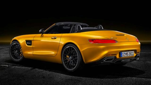 The new Mercedes-AMG GT S Roadster (7)