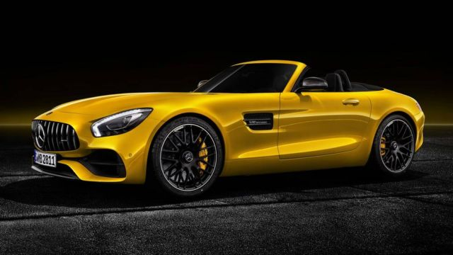 The new Mercedes-AMG GT S Roadster (5)