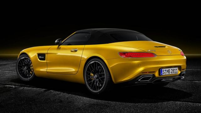 The new Mercedes-AMG GT S Roadster (4)