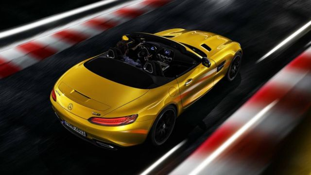 The new Mercedes-AMG GT S Roadster (2)