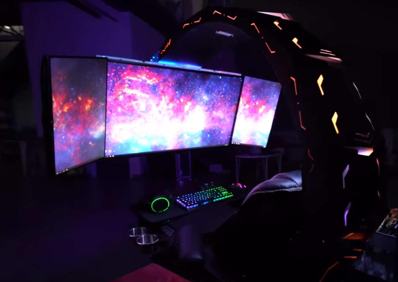 The stunning $30,000 Gaming PC Setup