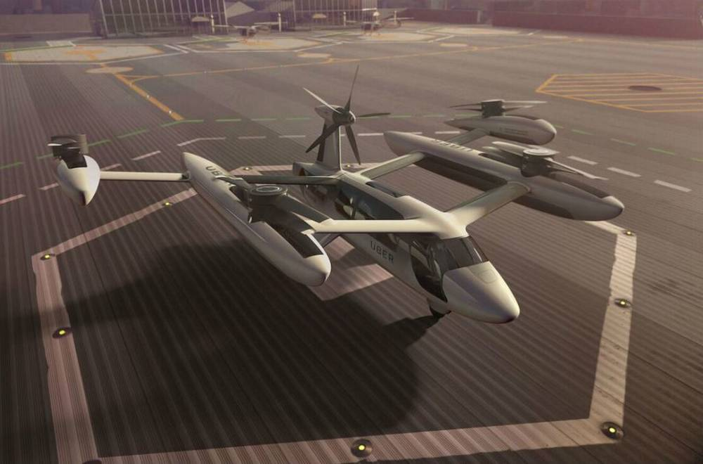 Uber reveals its Self-flying Taxi (2)