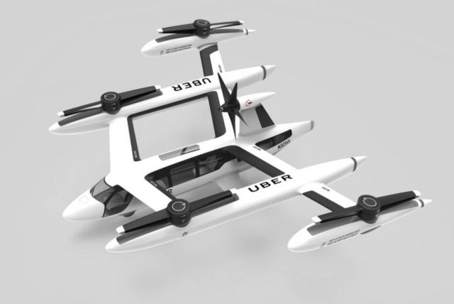 Uber reveals its Self-flying Taxi (1)