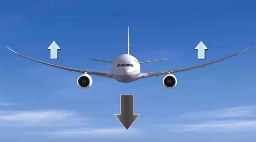 Why do aircraft store fuel in the Wings