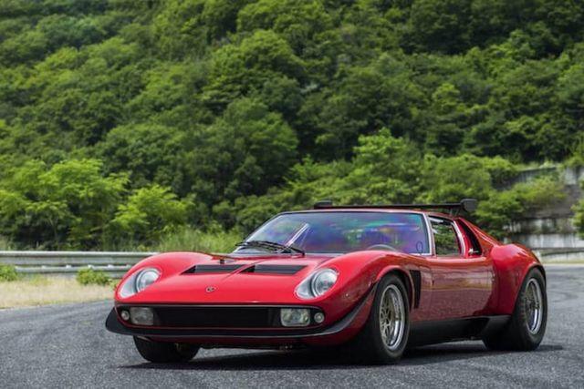 1968 Lamborghini Miura SVR Coupe