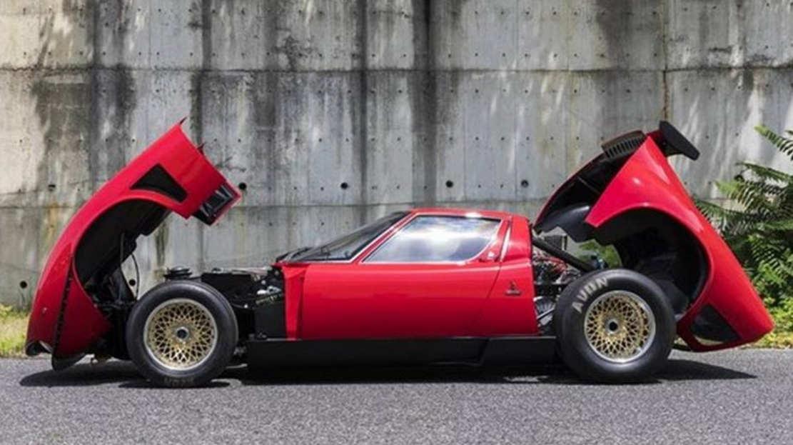 1968 Lamborghini Miura SVR Coupe restored (1)