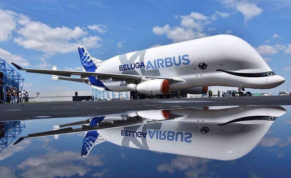 Airbus Beluga plane gets a makeover