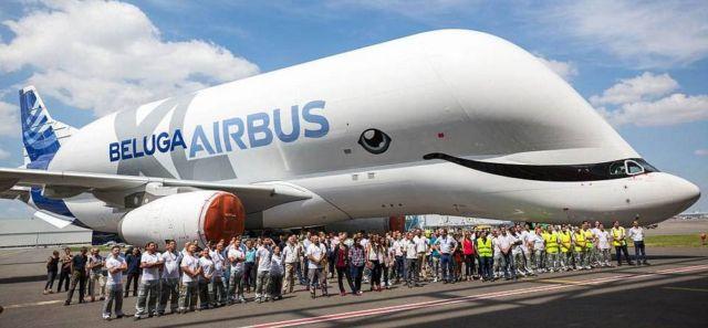 Airbus Beluga plane gets a makeover