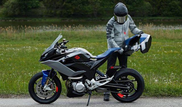 BMW Motorrad 9cento Concept Motorbike (6)