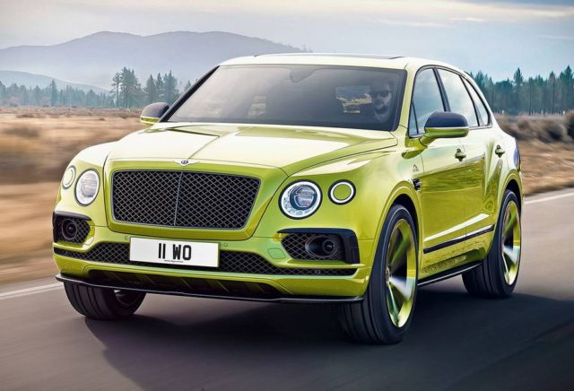 Bentley Bentayga breaks SUV Record at Pikes Peak Hill