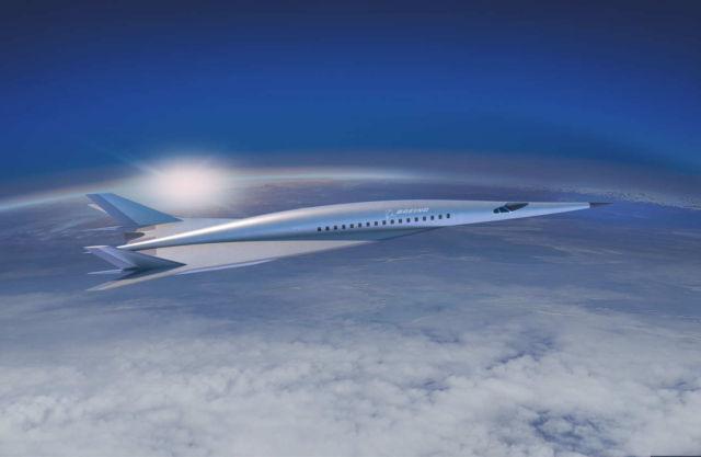 Boeing unveils Hypersonic Passenger plane