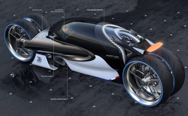 Bugatti Type 100M bike concept (3)