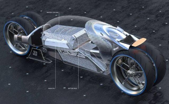 Bugatti Type 100M bike concept (2)