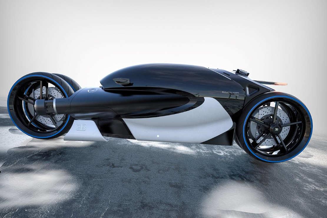 Bugatti Type 100M bike concept (1)