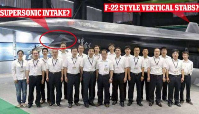 China unveils the Unmanned 'Dark Sword' Fighter Jet