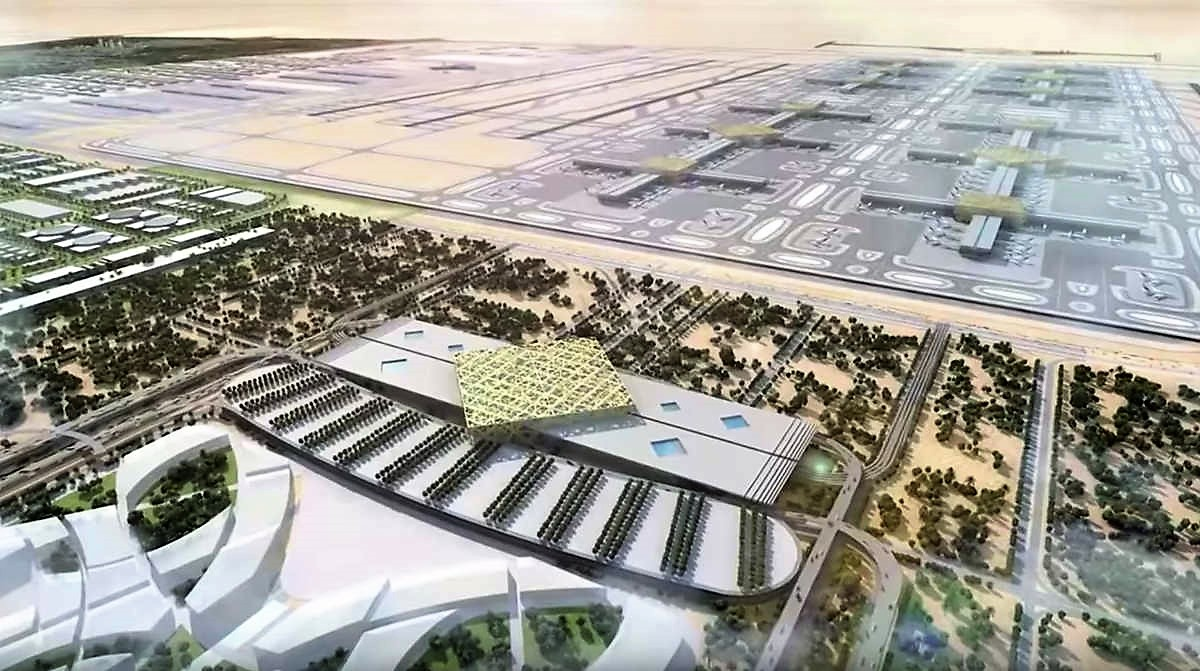 Dubai builds world's Largest Airport