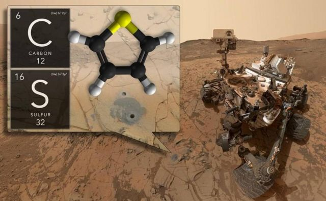 Evidence of Life Found on Mars